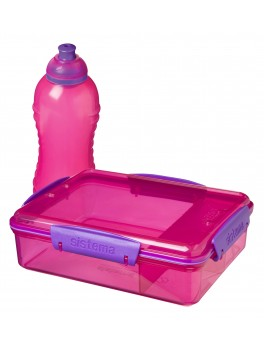 Sistema Lunch 2 pack pink