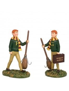 Harry Potter Fred og George Weasley figur-20