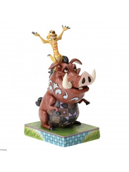 """Disney Traditions Timon and Pumba """"Carefree Cohorts""""-20"""