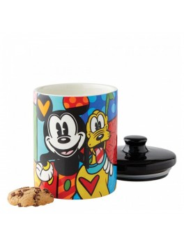Disney By Britto Mickey and Pluto Kagedåse Lille-20