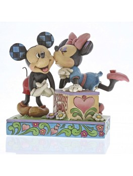 Mickey and Minnie figur Kysse kabine-20