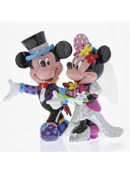 Disney By Britto Brudepar Mickey og Minnie-20