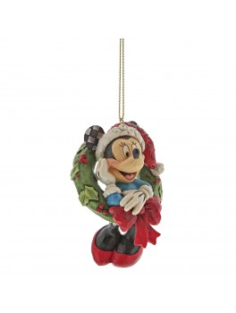 Disney ornament Minnie i krans-20