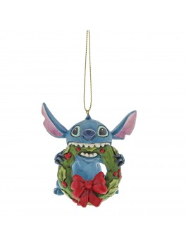 Disney ornament Stitch i krans-20