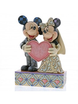 Mickey and Minnie figur To sjæle et hjerte-20