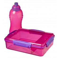 Sistema Lunch 2 pack pink/lilla