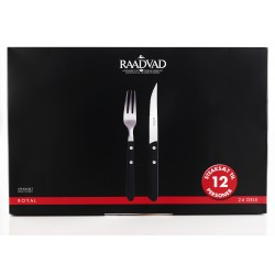 Raadvad Royal steaksæt 12 pers.