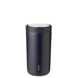 Stelton To-Go Click Termokop, 0,2 liter Metallic Midnight Blue